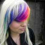 Rainbow Bangs Hairstyles