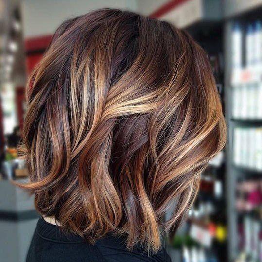 Short Hair Highlights Ideas