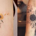Small Sunflower Tattoos