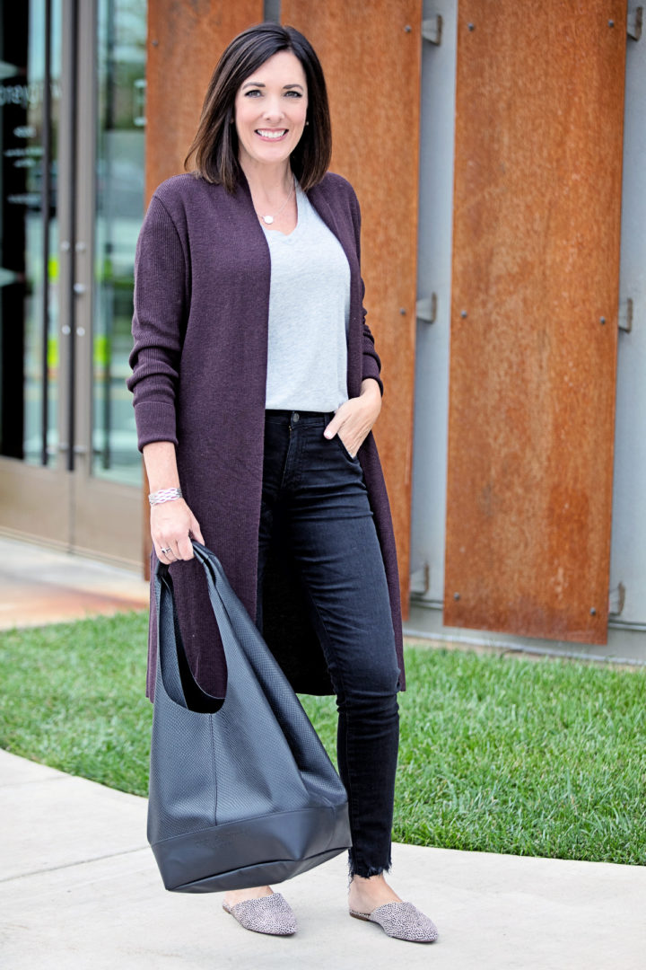 Styling Ideas for Long Cardigan Outfits
