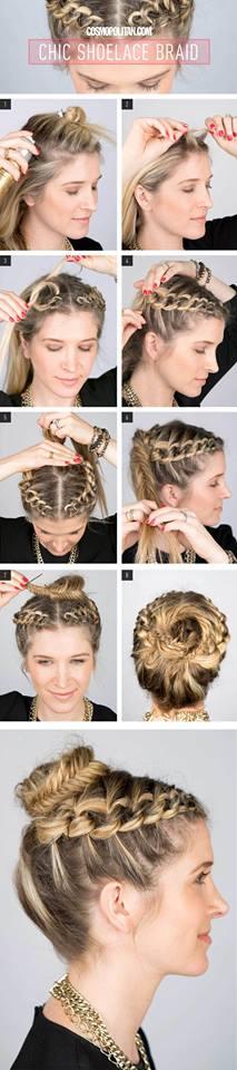 Trendy DIY Hairdo Braid