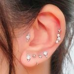 Trendy Tragus Piercing Ideas