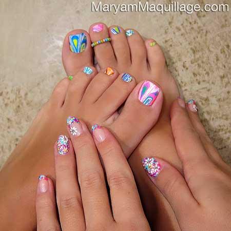 Unique Summer Nail Art