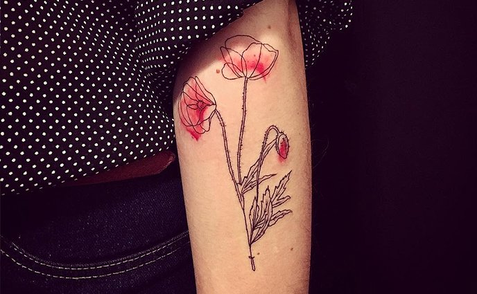 Water Color Tattoo Inspiration